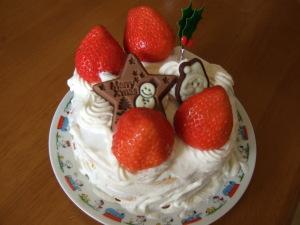 ひ、ひどいクリスマスケーキ・・・・