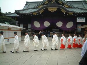 2000年12月31日靖国神社