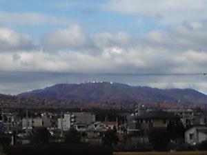 はっきりくっきり生駒山