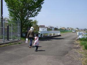 宮崎空港の横にある基地跡