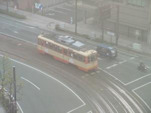 松山のチンチン電車