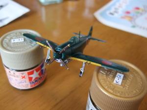 1/144紫電改 戦闘301