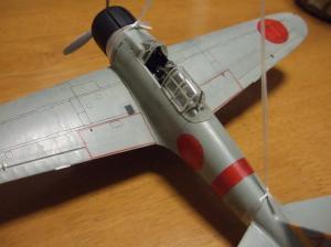タミヤ1/48零戦21型