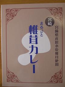 まるごと椎茸カレー