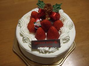 アンテノールのクリスマスケーキ
